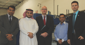 Gulf Carton buys Mosca pallet strapping machine