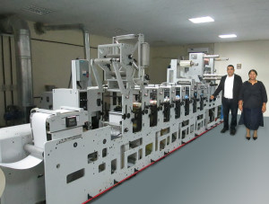 UAE-based printer speeds up production with Mark Andy