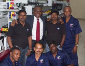 Ghana-based labeller picks a Performance Series P3 press