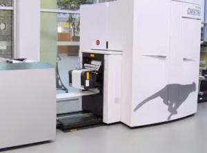 Xeikon has pushed its portfolio's top production speed up 56% with the Cheetah.