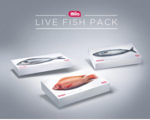 Fish packaging that moves like fresh catch