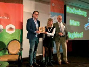 Choc wrapper from potato starch wins eco award