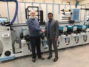 UAE sees the install of the second Lombardi Flexoline Press at Century Labels