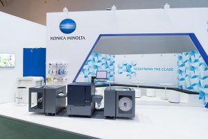 Konica Minolta debuts its digital label press for the region