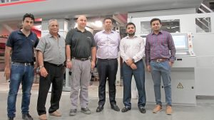 Saima Packaging, Pakistan installs a BOBST RS 4003MP gravure press