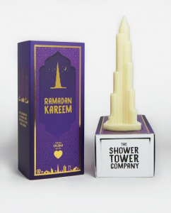Shower tower packages 'soapenir' as the ultimate ramadan gift