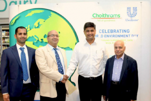 Unilever and choithrams re affirm eco partnership