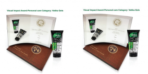 Dabur hair gel packaging wins award
