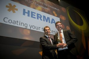 HERMA GROUP wins product innovation award at the Label Industry Global Awards 2017