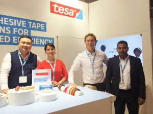 Tesa shows new world premier products at Labelexpo Europe 2017
